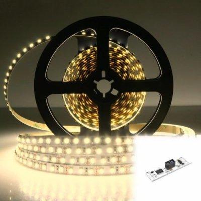 TAŚMA 600 LED / STANDARD / ROLKA 5 m / BIAŁY NEUTRALNY z czujnikiem ruchu