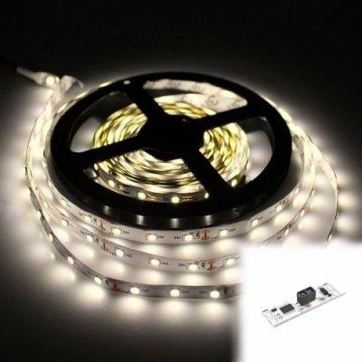 TAŚMA 150 LED / standard / ROLKA 5 m / BIAŁY DZIENNY z czujnikiem ruchu