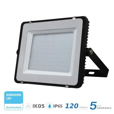 Naświetlacz V-TAC 150W 18000lm SAMSUNG CHIP SLIM 6400K IP65 120lm/W