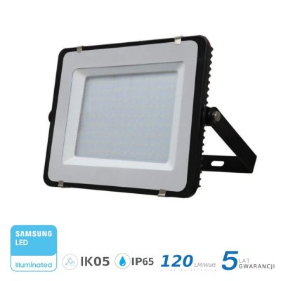 Naświetlacz V-TAC 200W 24000lm SAMSUNG CHIP SLIM 6400K IP65 120lm/W