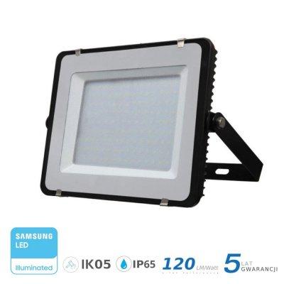 Naświetlacz V-TAC 300W 36000lm SAMSUNG CHIP SLIM 4000K IP65 120lm/W