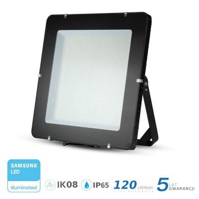 Naświetlacz V-TAC 1000W 120000lm SAMSUNG CHIP SLIM 4000K IP65 120lm/W