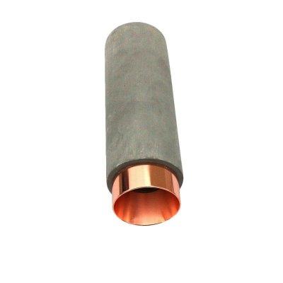Oprawa sufitowa natynkowa GU10 okrągła BETON - szara/różowe złoto 5 lat gwarancji