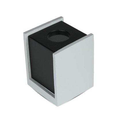 Oprawa sufitowa natynkowa GU10 kwadratowa beton szary/czarny 5 lat gwarancji