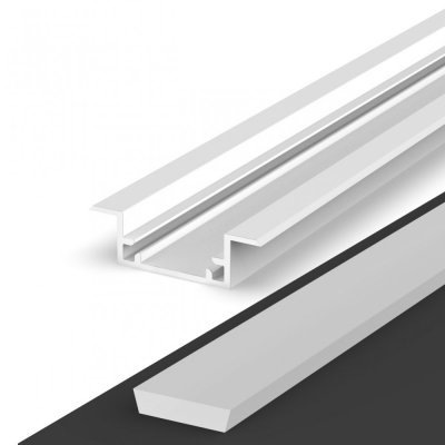 Hermetyczny Profil LED P11-2 biały lakierowany z kloszem mlecznym 2m