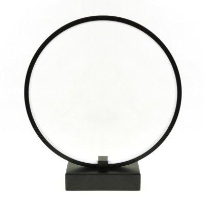 Lampa biurkowa RGB Bengrants Smart Circle Wi-Fi Lamp czarna