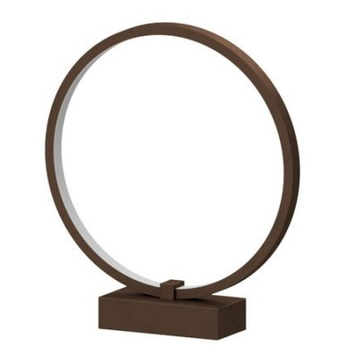 Lampa biurkowa RGB Bengrants Smart Circle Wi-Fi Lamp brązowy
