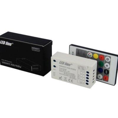 Sterownik LED LEDLINE Variante RGB/RGBW + pilot radiowy