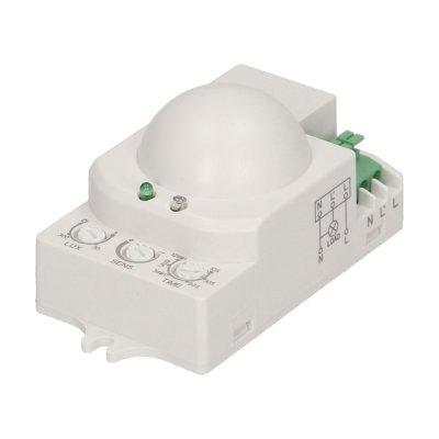 CZUJNIK RUCHU LED DETEKTOR 230V MIKROFALOWY 360° IP20 1200W