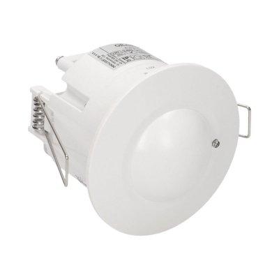 CZUJNIK RUCHU LED DETEKTOR 230V MIKROFALOWY 360° IP20 1200W DO SUFITÓW PODWIESZANYCH