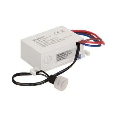 Czujnik zmierzchowy mini z zewnętrzną sondą IP54 2000W biały