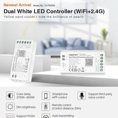 Inteligenty odbiornik Mi-Light CCT do rozbudowy zestawu 144W Wi-Fi