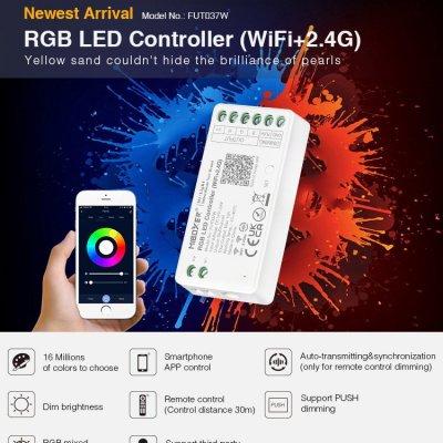Inteligenty odbiornik Mi-Light RGB RF do rozbudowy zestawu 144W Wi-Fi