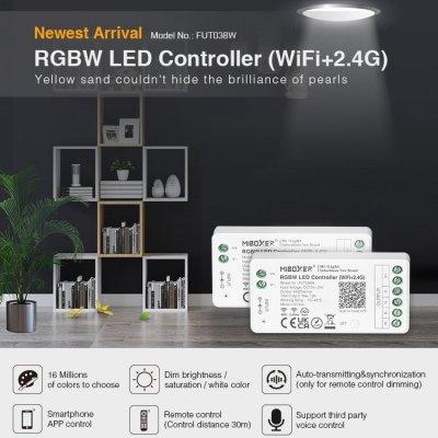 Inteligenty odbiornik Mi-Light RGBW do rozbudowy zestawu 144W Wi-Fi