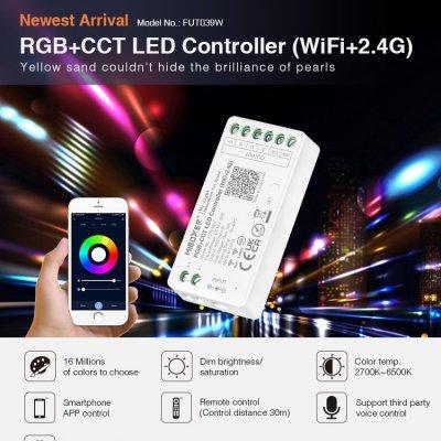 Inteligenty odbiornik Mi-Light RGB+CCT Wi-Fi do rozbudowy zestawu 144W