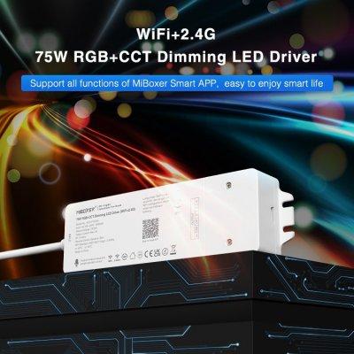 Inteligenty odbiornik Mi-Light RGB+CCT Wi-Fi Bluetooth 75W z zasilaczem 24V